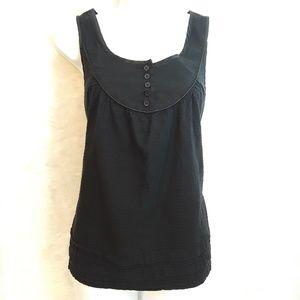 A.N.A black sleeveless top